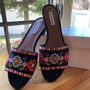 🆕 TABITHA SIMMONS Multicolored sandals❤️